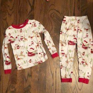 Pottery Barn Kids Christmas Pajamas 🎄